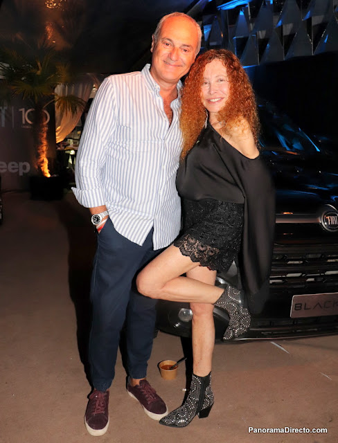 Alejandro Raineri y Maureene Dinar