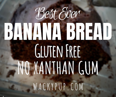 Don't eat xanthan gum, it's not a good thing!