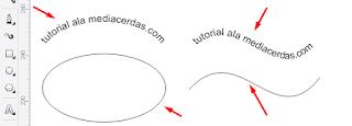 Tutorial Cara Membuat Tulisan Melengkung di CerelDraw X7