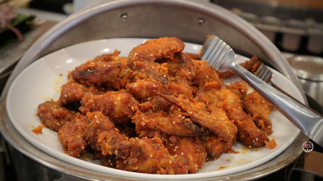 Korean Wings at Hanamasa