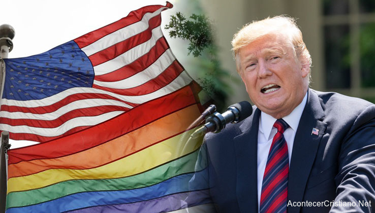 Donald Trump prohíbe bandera gay en embajadas