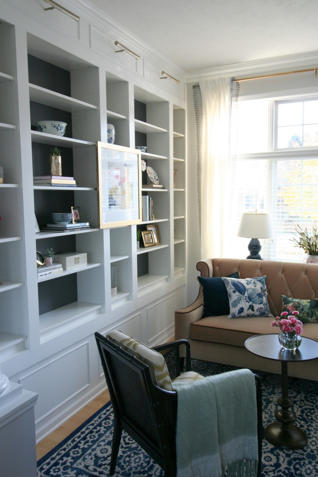 Living In One Room One Room Challenge Formal Living Room Reveal Restyle It Wright