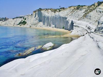 Scala dei Turchi rocky white cliff, Agrigento | Sicily, Italy | wayamaya