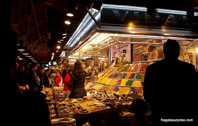 Barcelona: Mercado da Boqueria