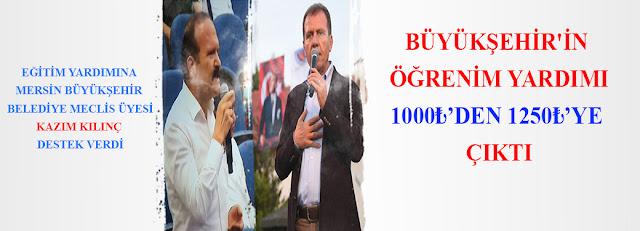 MANŞET, Anamur Haber, Anamur Son Dakika, Vahap Seçer, Mersin Büyük Şehir Belediyesi,