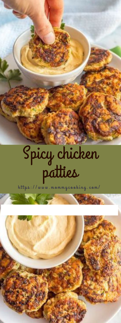 Spicy Chicken Patties #healthy #keto
