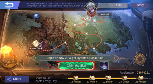 Bahas Detail Event Terbaru Defend Of Empire Dyroth Mobile Legends