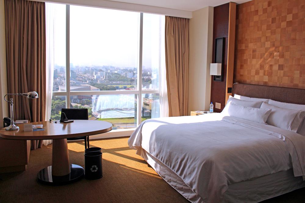 Room at The Westin Lima, Peru - luxury travel blog