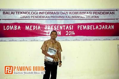 Saya di Gebyar TIK 2014 - Lomba Media Presentasi Pembelajaran