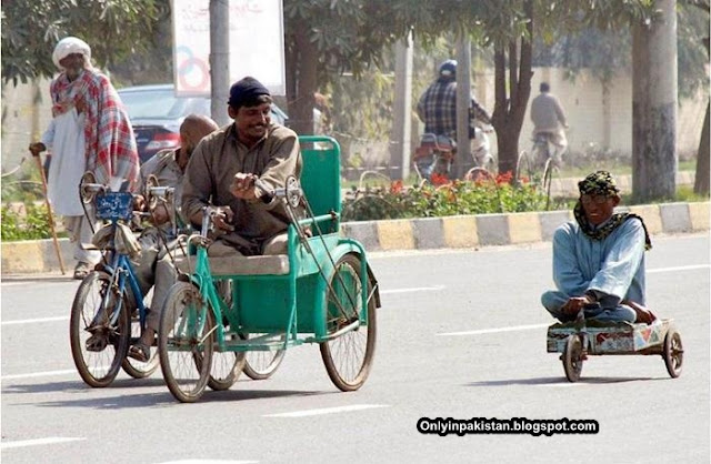 Funny Pakistani Tricycle
