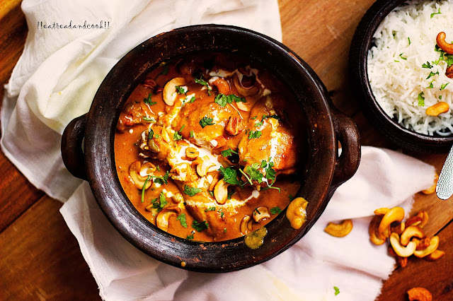 how to make Hyderabadi Chicken Korma recipe and preparation
