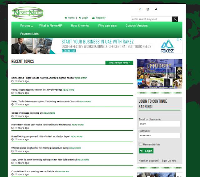 Shocking! How I Make Money Online Reading News On NewsNaira.Com
