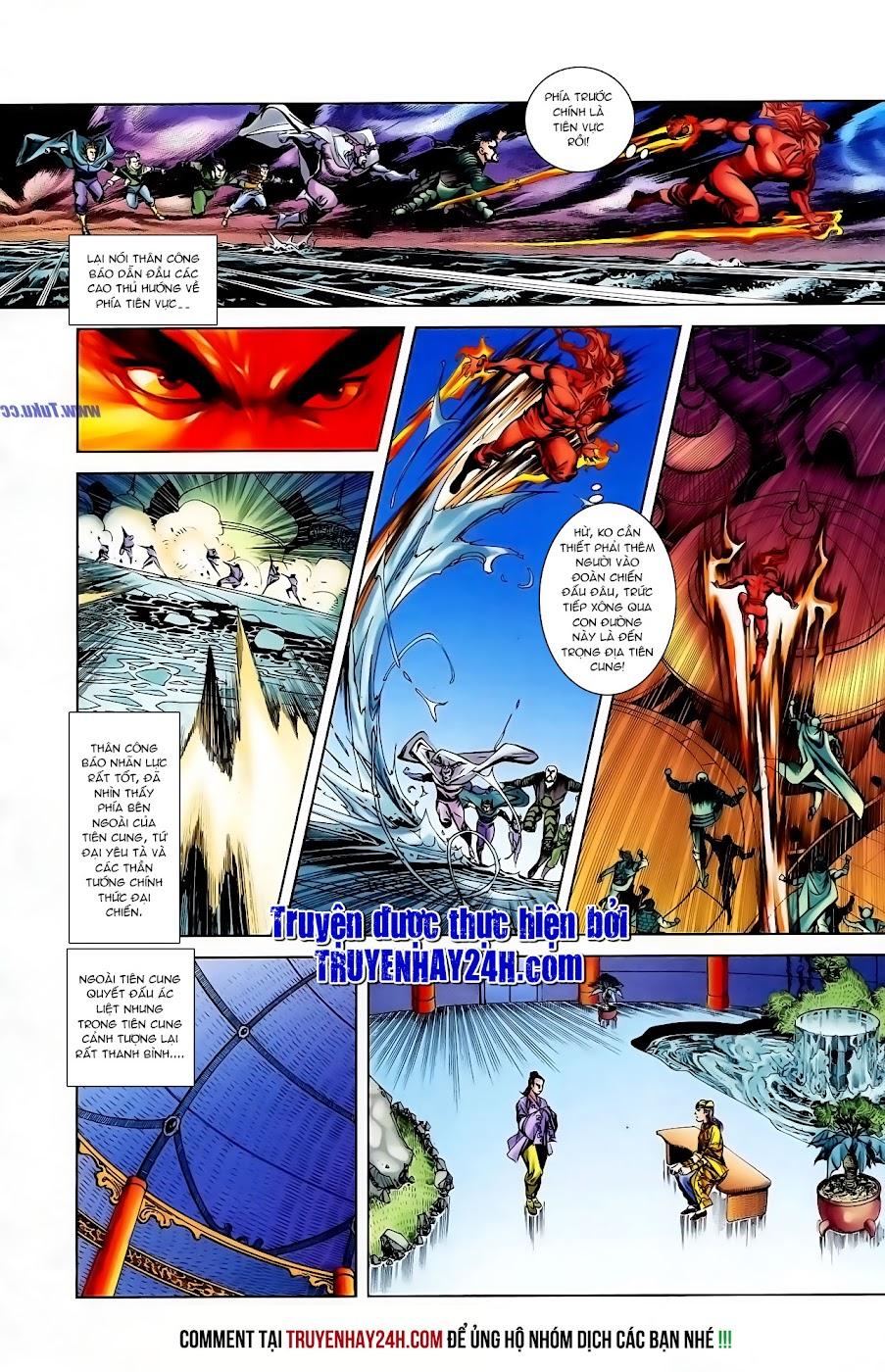 Cơ Phát Khai Chu Bản chapter 105 trang 25