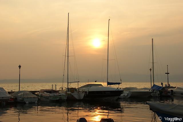 Gli splendidi tramonti di Lazise sul Lago di Garda