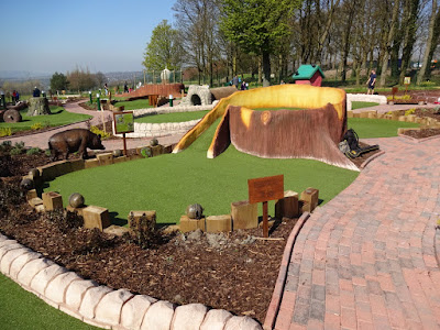 Adventure Golf at Haigh Woodland Park in Wigan