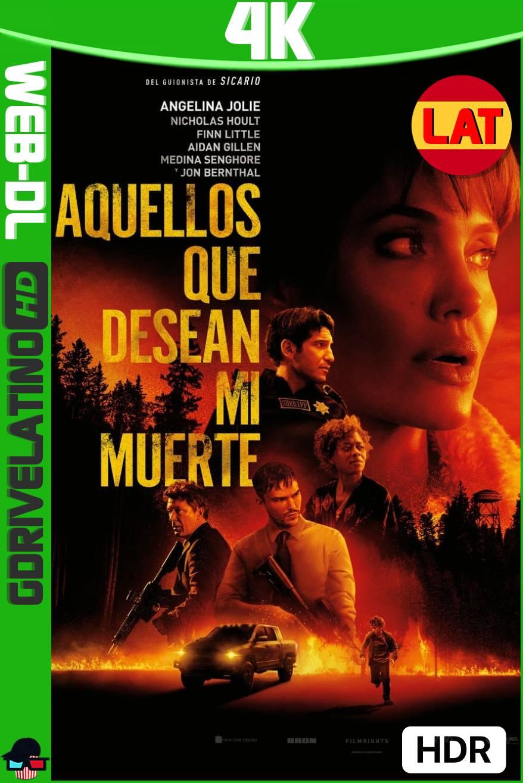 Aquellos Que Desean Mi Muerte (2021) HMAX WEB-DL 4K HDR Latino-Ingles MKV