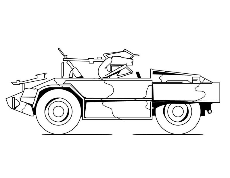 Military Coloring Pages Learn To Coloring