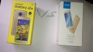Berikut Perbandingan J2 Prime dan Vivo Y53