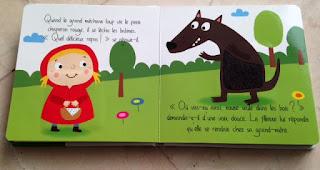 Le petit chaperon rouge - les contes de fées à toucher - Editions TAM TAM