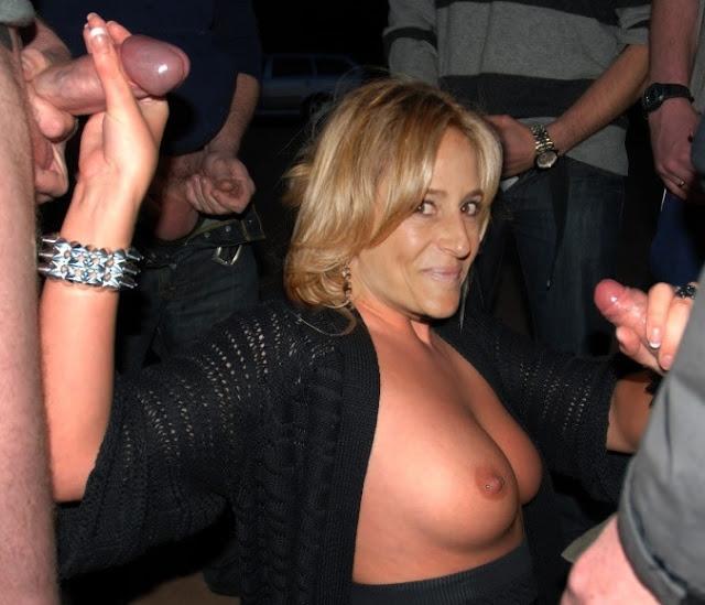 Naked handjob Emily Maitlis topless tits gangbang
