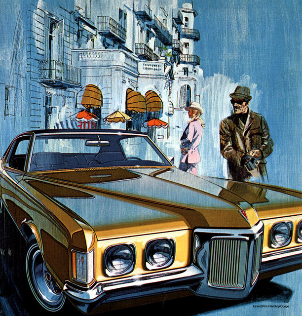 1970'S PONTIAC'S SALES BROCHURE GRAND PRIX BONNEVILLE ETC Other ...