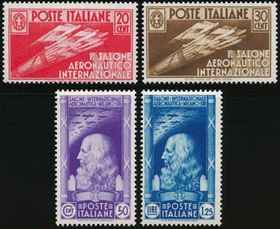 Italy 1935- Leonardo da Vinci Set
