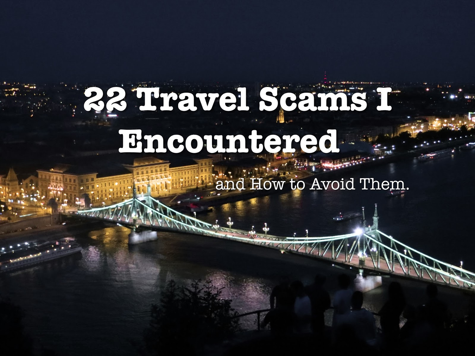Miss HappyFeet Travel Scams I Encountered During My Travels - 7 tips to avoid tourist scams in europe