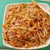Noodles fritos con huevo