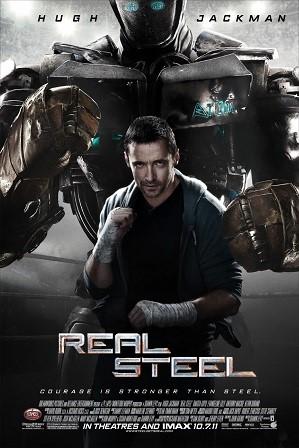 Real Steel (2011) Hindi Dual Audio 1GB BluRay 720p