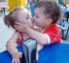 Top latest hd Baby Boy to Girl frist kiss images photos pic wallpaper free download 58