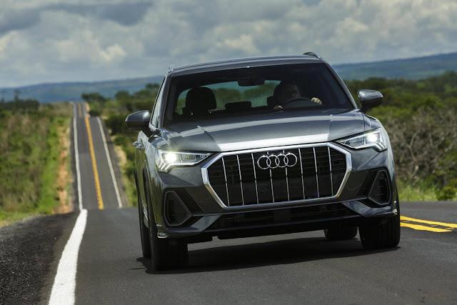 Novo Audi Q3 2020 - Brasil