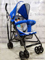 Kereta Bayi Disney DB306 Mickey and Friends Buggy