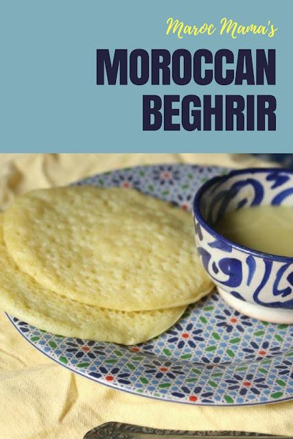 Moroccan pancake recipe