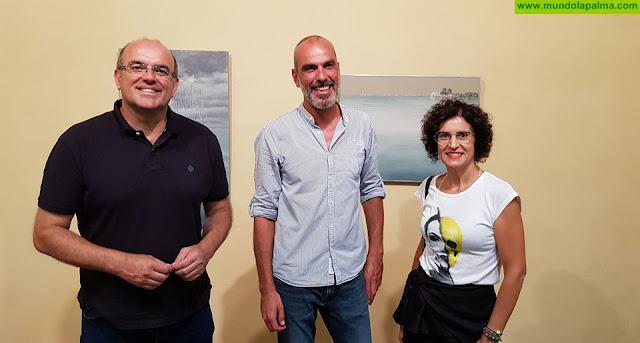 El Cabildo expone las pinturas de Gonzalo Concepción en la Casa Principal de Salazar