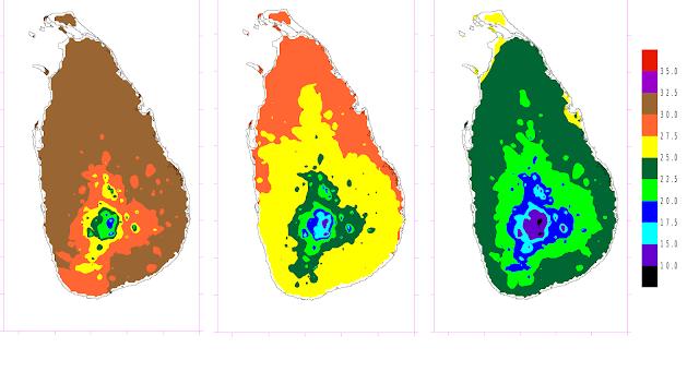 ශ්රී ලංකාවේ දේශගුණය The climate of Sri Lanka 01