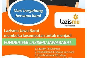 Lowongan Kerja Faundriser Lazismu Bandung