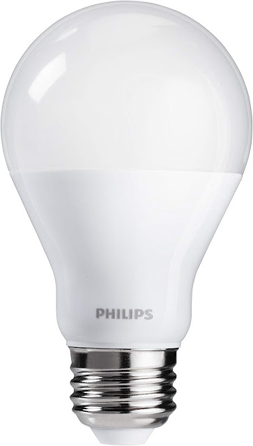 Philips 60W Equivalent Soft White A19 Dimmable LED Light Bulb