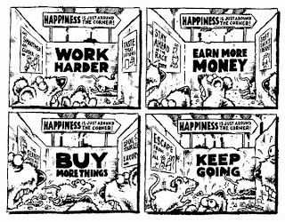 Rat Race humour cartoon