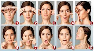 senam wajah untuk pasien perot di wajah
