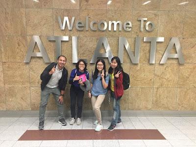 Transit kedua di Atlanta, Amerika Syarikat yang merupakan pusat transit yang sibuk gila