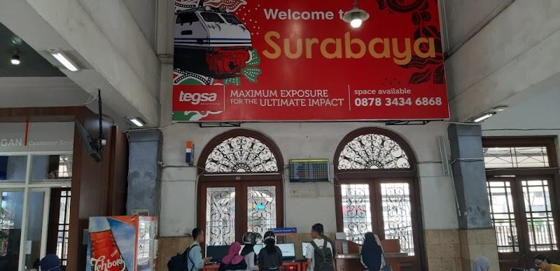 First Time Naik Kereta dari Stasiun Gubeng Surabaya