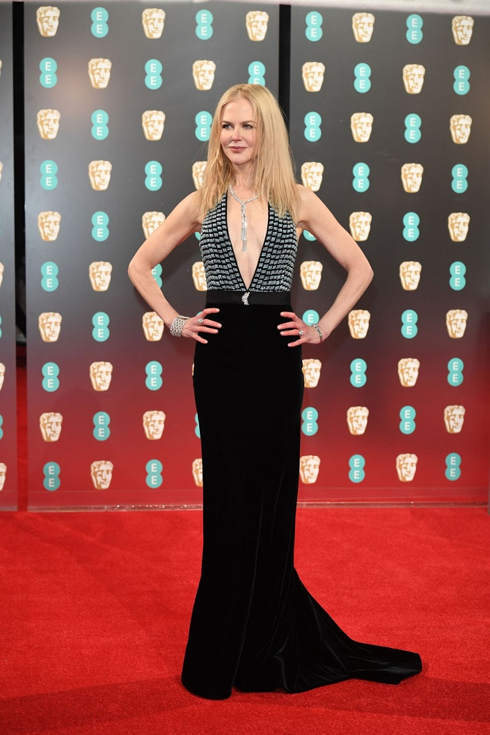 Nicole Kidman at BAFTA Awards 2017 in London, UK