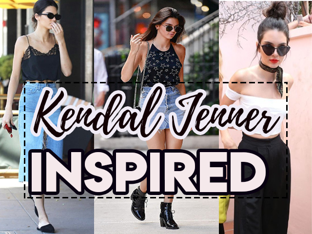 Inspire se nos looks de Kendall Jenner