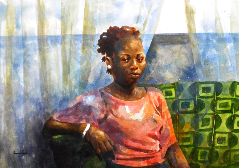 Paintings by Oyewole Olufemi Ayodeji from Nigeria.