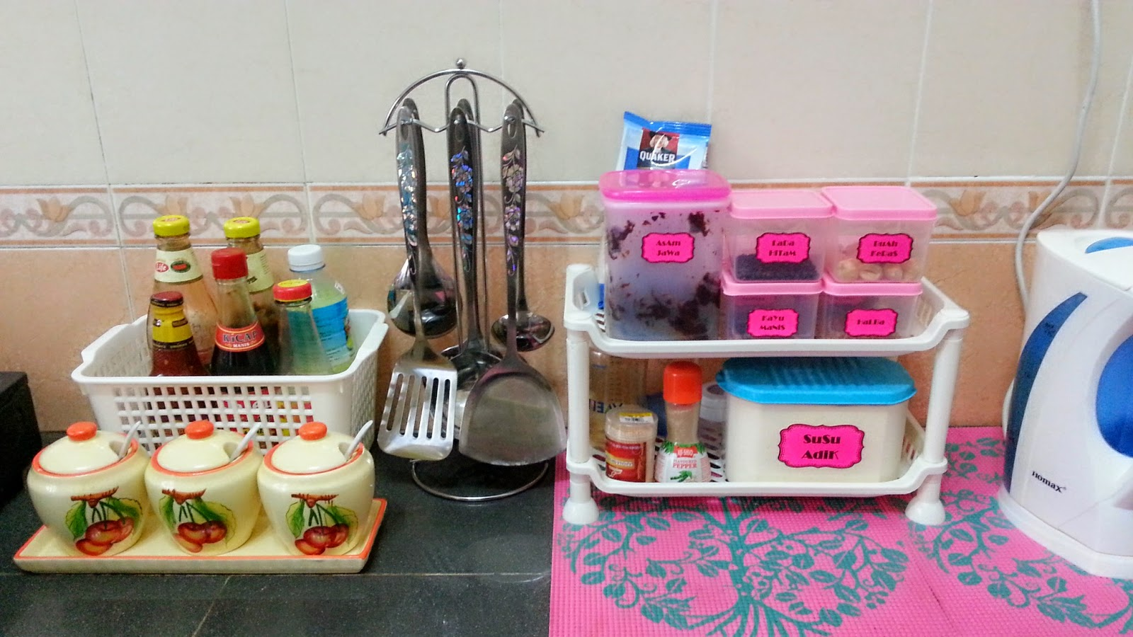 Ruang Dapur Comel  Desainrumahidcom