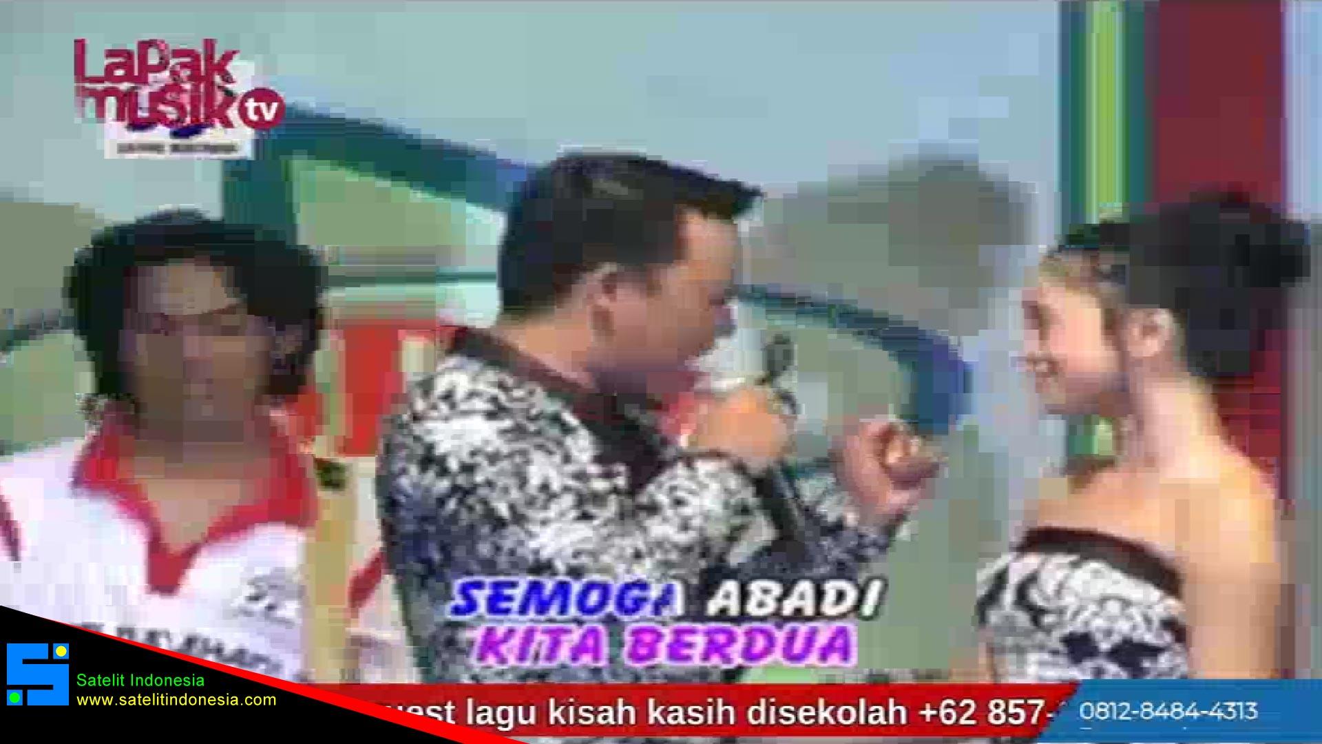 Frekuensi siaran Lapak Musik TV di satelit Telkom 4 Terbaru