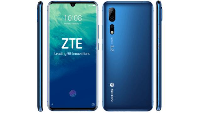 ZTE Axon 10 Pro con 5G-TuParadaDigital