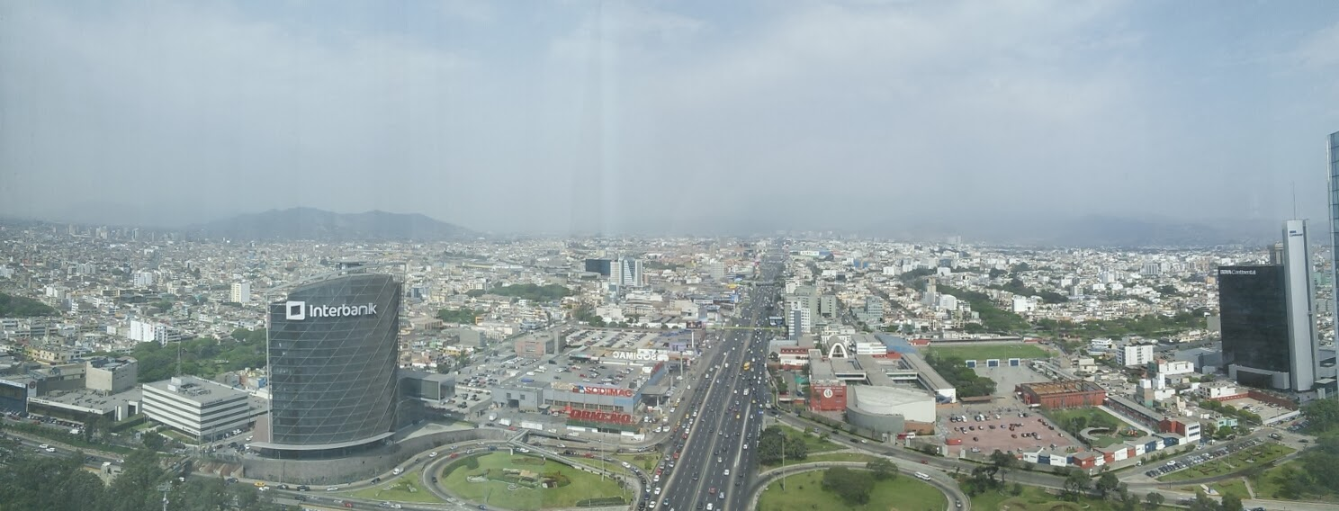 Panorama Lima, Peru