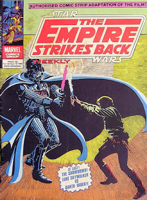 Empire Strikes Back Weekly #134, Darth Vader vs Luke Skywalker