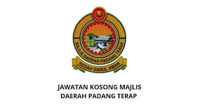 Jawatan Kosong Majlis Daerah Padang Terap 2020 (MDPT)